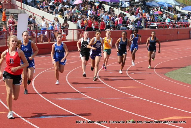 high school track meet events